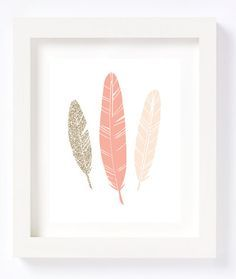 Items similar to Printable - Gold Glitter Peach blush Feathers Tribal Bohemian Wall Art Print Nursery Children's room decor pink baby girl modern whimsical on Etsy Boho Nursery, Girl Nursery, Girl Room, Nursery Decor, Nursery Room, Aztec Nursery, Peach Nursery, Room Baby, Nursery Ideas