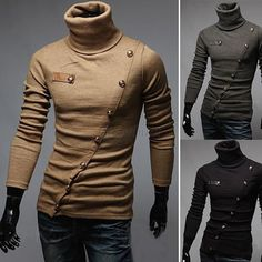 Korean men's slim sweater