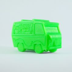 The Mystery Machine And Classic Car Models That You Can Print!