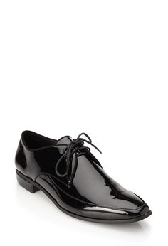 Faux Patent Leather Oxfords | FOREVER21 - 2000121031