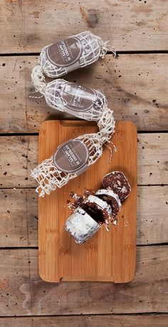 We LOVE these decadent chocolate salami treats from Cacao Atlanta Chocolate Co.! #KDfinds