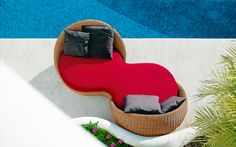 Outdoor Wicker Patio Sofas & Lounge Chairs