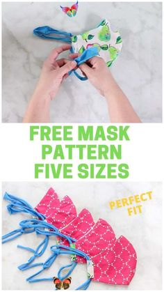 SEW the BEST Fitting Medical MASK with FILTER, FREE Pattern & FIVE Sizes!!!  <br> Learn to Sew a Fitted Face Mask with Filter Pocket, Removable Nose Wire, T-Shirt Tie and Casing. A tutorial by Sweet Red Poppy. Click here now!! Diy Sewing Projects, Sewing Tutorials, Sewing Hacks, Sewing Crafts, Beginners Sewing, Sewing Diy, Elastic For Sewing, Serger Projects, Easy Knitting Projects