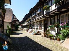 Engelgasse Street - Gegenbach (Germany)