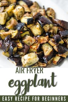 This easy recipe for healthy air fryer eggplant is a delicious and healthy side dish. It is simple to make and is a quick, easy and healthy way to prepare eggplant. This recipe is vegan, gluten free and keto friendly, so it makes a great addition to any meal.