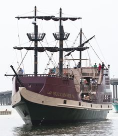 Bucaneer Pirate Ship - New attraction near Fort Walton Beach