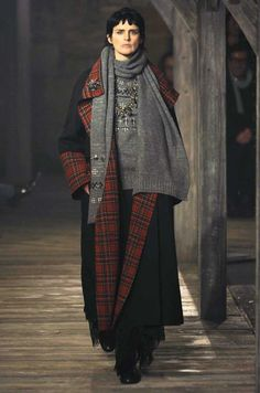 Karl Lagerfeld's Scotland-inspired pre-fall 2013 collection for Chanel
