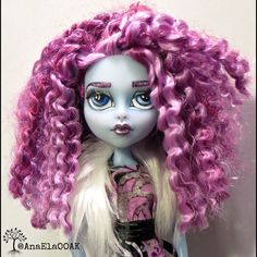 RESERVED Monster High OOAK Custom Repaint by AnaElaOOAK on Etsy