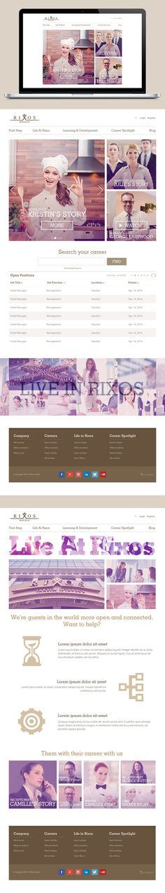 Website Design | Food Blog | E Commerce | Branding Image Inspiration & Ideas | Web Layout | Graphic Design |Examples of Landing Pages