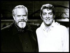 Dean Martin and Orson Welles