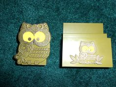 Your place to buy and sell all things handmade Napkin Holders, Pen Holders, Bill Holder, Small Pen, Owl, Etsy, Towel Holder, Owls, Pencil Holder