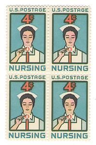Tribute to Nursing Postage Stamps