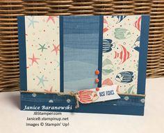 #JBStamper, By the Shore, Jar of Love, Banner punch, Dapper Denim. by-the-shore-bestfishes-sggwchallenge
