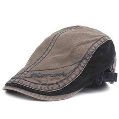 Bereta barbateasca stil vintage, casual Newsboy Cap, Visors, Sun Hats, Hats For Men, Sling Backpack, Dark Grey, Fossil, Berets, Beige