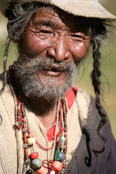 Portraits of Old Age on my Travels Far Western Tibet by eriagn