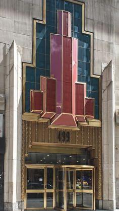 Art Deco world fashion tower nyc