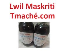 Haitian Lwil Maskriti   You can order it @ Tmache.com