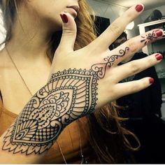Ornamental Wrist Design
