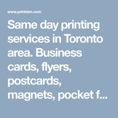 Do you need a postcard printing service to boost your business same day printing services in toronto area business cards flyers postcards magnets reheart Image collections