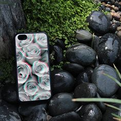 iPhone Case Trippy Floral Trendy Art For iPhone 4, iPhone 5, or iPhone 5c in Plastic*, Rubber or Heavy Duty