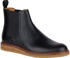 Sperry Top-Sider Men's Gold Cup Leather Crepe Chelsea Men's Gold Cup Leather Crepe Chelsea