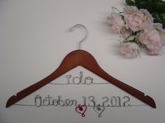 I need one of these someday to hang my dress on...it is a must lol