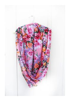 Check out this item in my Etsy shop https://www.etsy.com/ca/listing/176858138/fall-floral-scarf-chiffon-scarf-pink
