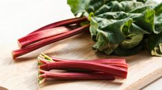 How to cook with rhubarb