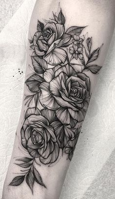 160 female forearm tattoos - : Have to get done! - - Pawprint female forearm tattoos - : Have to get done! Subtle Tattoos, Top Tattoos, Pretty Tattoos, Black Tattoos, Body Art Tattoos, Tatoos, Black Work Tattoo, Black And White Rose Tattoo, Forearm Flower Tattoo