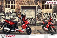 Özgün tasarımı, eğlenceli yapısı ile her sürüşte ne kadar özel olduğunuzu hissedeceksiniz; Super 8 125 www.kymco.com.tr