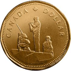 Loonies and commemorative circulation 1 dollar coins. The 1 dollar coin series from Canada English Coins, Canadian Coins, Foreign Coins, Coins Worth Money, Coin Worth, Gold And Silver Coins, Coins For Sale, Old Money, Gold Bullion