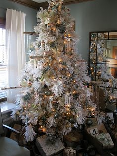 a white tree done right!
