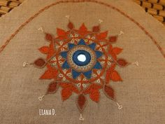 Indian inspired medallion - www.bagofthreads.blogspot.com