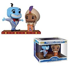 "9,347 Likes, 182 Comments - Funko Pop! Vinyl Fan Page (@popvinyl) on Instagram: ""It's #Aladdin and #Genie in a #Disney box scene of his first wish - PREORDER/ORDER LINK IN BIO…"""