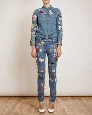 PATCHES ON JEANS - PATCHES
