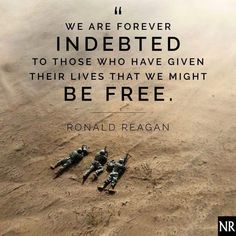 Thank you to all veterans who have helped ensure that we stay free. We are forever indebted.