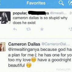 Reason why we love Cameron Dallas