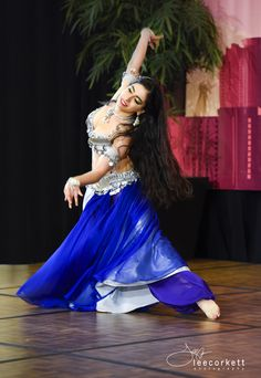 Silver Coin Blue Professional Costume By Bella Lida Bellydance Lidabellydance Dance Performance