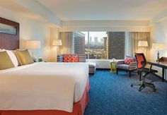 Make your getaway to Renaissance Boston Waterfront Hotel, a premier luxury destination located in Boston's vibrant Seaport District. Downtown Boston, Boston Public, Brick Sidewalk, City Layout, Modern Skyscrapers, Hotel King, Harbor City, Freedom Trail