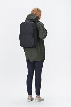 Inspired by the classic daypack, RAINS' minimalistic Field Bag is made from a water-resistant fabric with a matte finish. Fully lined, it has a main com. People Cutout, Cut Out People, Autocad, Render People, People Png, Architecture People, Image Fashion, Poses References, Herschel Heritage Backpack