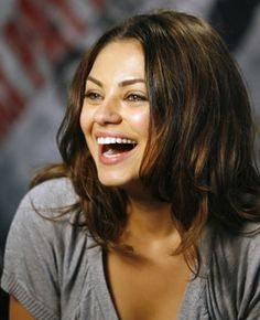 Mila Kunis... she is my absolute favorite. ever.