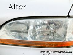 5 Minutes to Clean Headlights