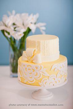 Yellow & White Peony, via Flickr.