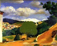 ANDRÉ DERAIN / Paysage en Provence