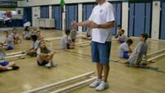 This video breaks down each of the 5 steps of the Tinikling dance. This is a good video showing how the entire dance flows together. Pe Lessons, Physical Education Games, Early Childhood Education, Kids Sports, 5th Grades, Joseph, Activities For Kids, Exercise, Learning