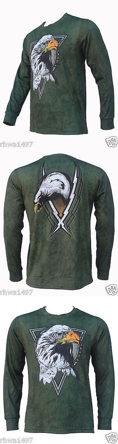 Other Mens Fitness Clothing 40892: Un92 Thunderbird Long Sleeve T-Shirts_Od Green -> BUY IT NOW ONLY: $34.95 on eBay!