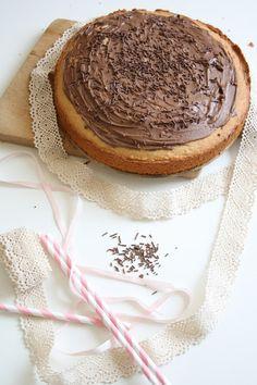 aleglodomorek: Proste ciasto z masłem orzechowym