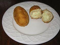 Mundo Atkins: Coxinha de frango com Catupiry sem massa!