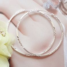 $23.44 Genuine 99 Silver Korean earrings 990 fine silver ear ring Korea exaggerated the silver earring Fengqiang Hot