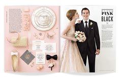 ★ DESIGN ARMY – Washingtonian Bride & Groom: Color Theory (Editorial Design and Art Direction) © Design Army LLC #catalog